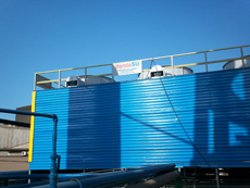 Water Cooling Tower Cladding, Wind Partition, Louver