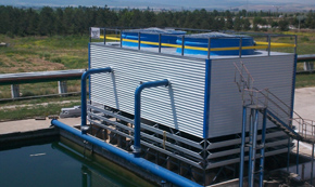 Counter Flow Forced Draught Construction Type Water Cooling Towers
