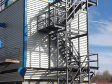 Water Cooling Tower Stair Rail